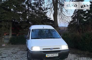 Минивэн Fiat Scudo груз.-пасс. 1999 в Чорткове