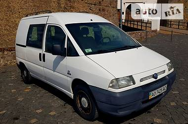 Fiat Scudo груз.-пасс. 2001 в Мукачево