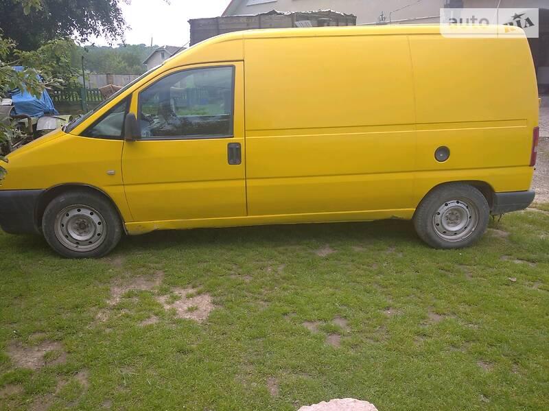 Fiat Scudo груз. 2002 в Черновцах