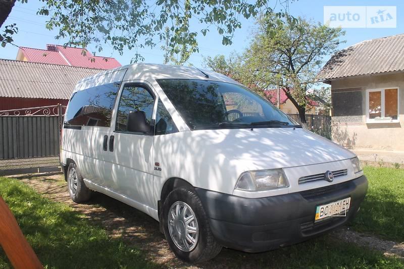 Fiat Scudo пасс. 2000 года в Львове