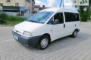 Легковой фургон (до 1,5 т) Fiat Scudo пасс. 1998 в Львове