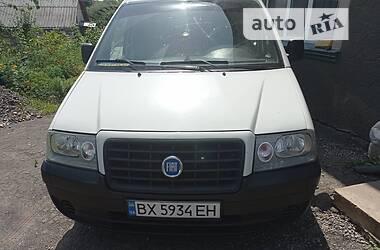 Легковий фургон (до 1,5т) Fiat Scudo пасс. 2005 в Дунаївцях