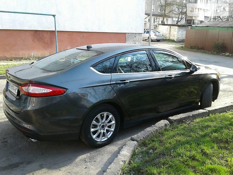Ford Fusion 2015 года в Львове