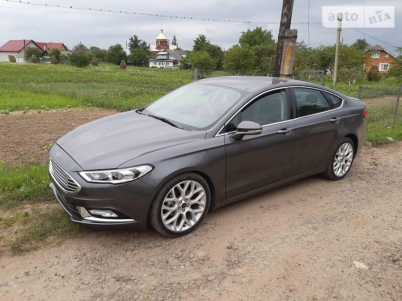 Ford Fusion 2017 года в Ивано-Франковске