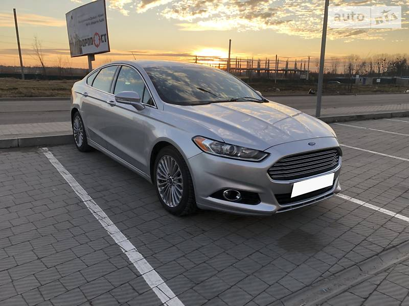 Ford Fusion 2014 в Львове