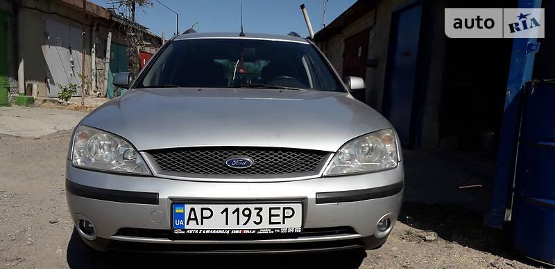 Ford Mondeo 2002 года в Запорожье