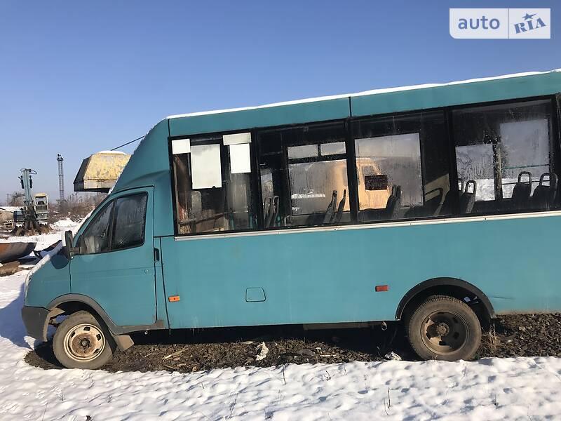 Міський автобус ГАЗ 3321 2008 в Мукачевому