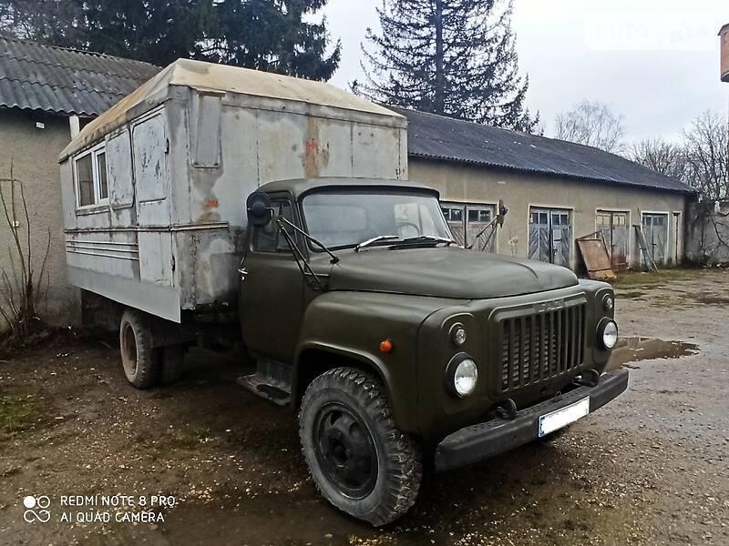 Вахтовий автобус / Кунг ГАЗ 52 1986 в Гусятині