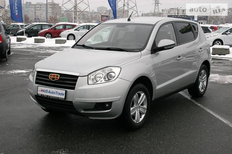 Geely Emgrand X7 2012 года в Киеве