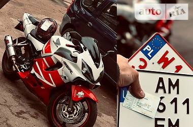 Мотоцикл Спорт-туризм Honda CBR 600 2001 в Коростене
