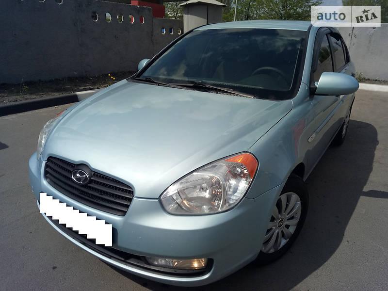 Hyundai Accent 2009 года