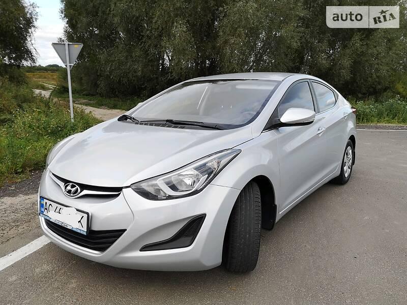 Hyundai Elantra 2014 в Луцке