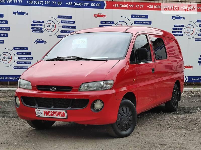 Hyundai H 200 груз.-пасс. 1999 в Кривом Роге