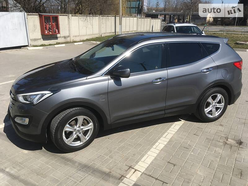 Позашляховик / Кросовер Hyundai Santa FE 2014 в Тернополі
