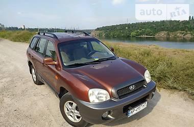 Позашляховик / Кросовер Hyundai Santa FE 2001 в Запоріжжі