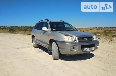 Внедорожник / Кроссовер Hyundai Santa FE 2004 в Доброполье