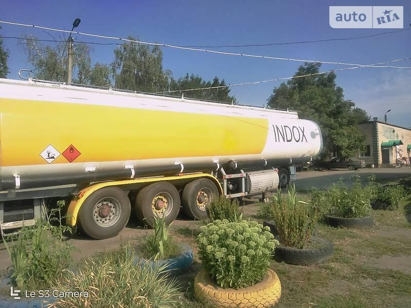 Цистерна напівпричіп Indox AM-112 1992 в Черкасах
