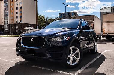Jaguar F-Pace 2017 в Вишневом