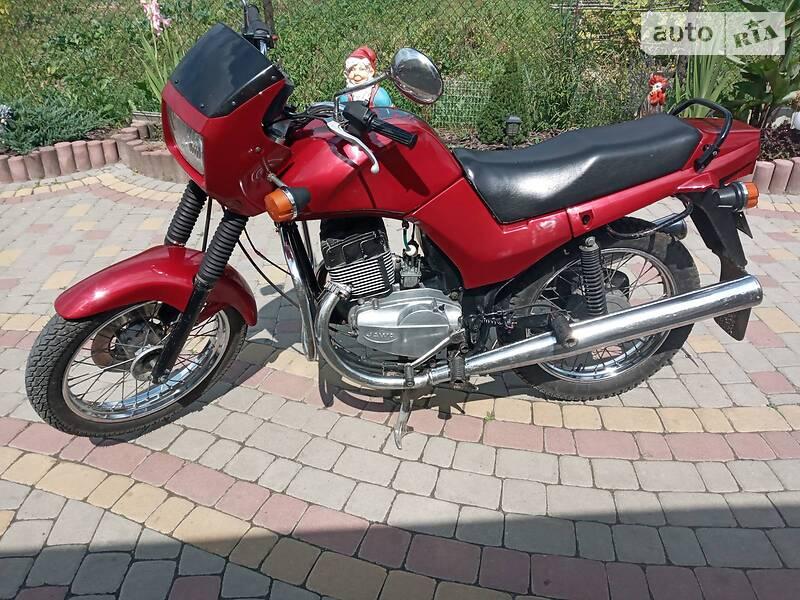 Jawa (ЯВА) 640 1994 в Трускавце