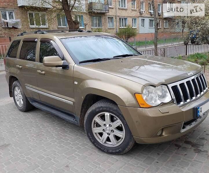 Позашляховик / Кросовер Jeep Grand Cherokee 2008 в Києві