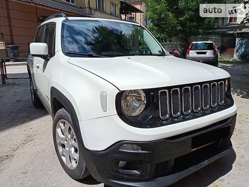 Внедорожник / Кроссовер Jeep Renegade 2017 в Тернополе