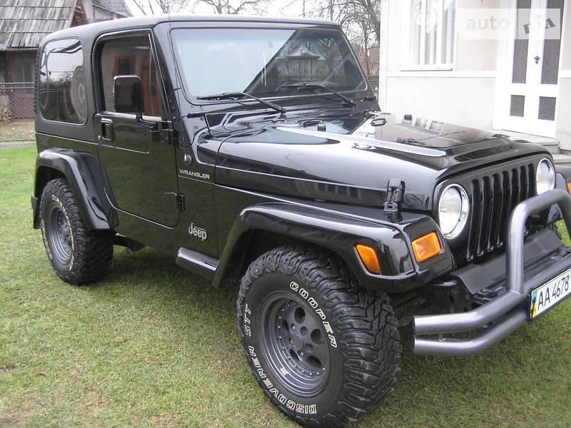 Jeep Wrangler 2002 в Косове