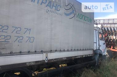 Тентованый КамАЗ 4308 2007 в Володарке