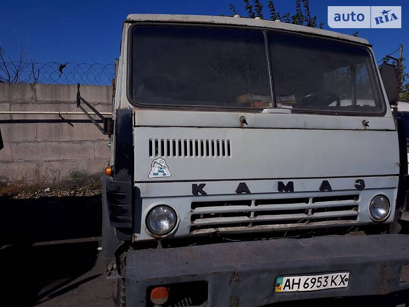Бортовой КамАЗ 53202 1991 в Мариуполе