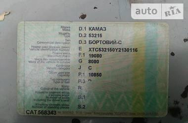 КамАЗ 53215 2000 в Диканьке