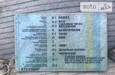 КамАЗ 5410 1988 в Очакове