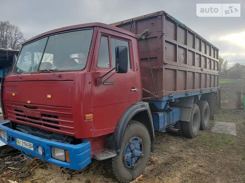 КамАЗ 55102 1989 в Барышевке