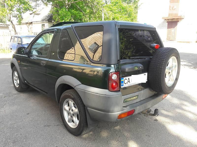 Позашляховик / Кросовер Land Rover Freelander 2001 в Черкасах