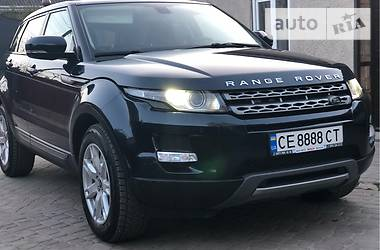 Land Rover Range Rover Evoque 2012 в Черновцах