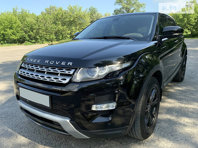 Land Rover Range Rover Evoque 2013 года в Киеве