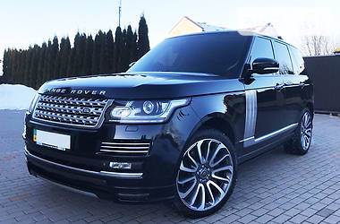 Land Rover Range Rover Vogue SE 5.0 2014