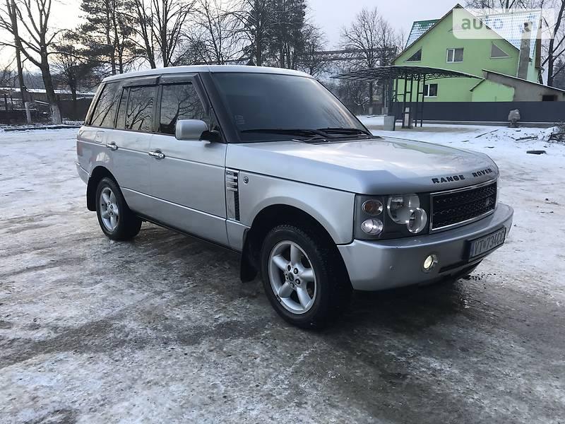 Land Rover Range Rover 2003 в Тячеве