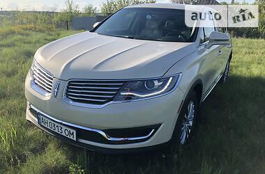 Позашляховик / Кросовер Lincoln MKX 2016 в Краматорську