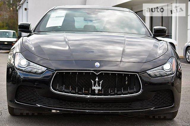 Maserati Ghibli 2015 года