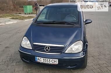 Mercedes-Benz A 170 2001 в Луцке