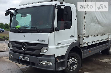 Тентованый Mercedes-Benz Atego 1218 2013 в Львове