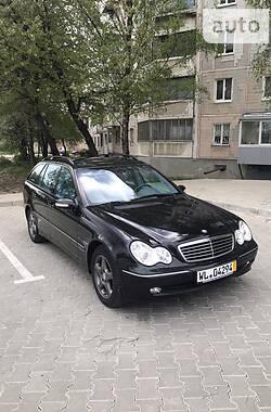Mercedes-Benz C 200 2002 в Тернополе