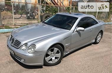 Mercedes-Benz CL 600 2002