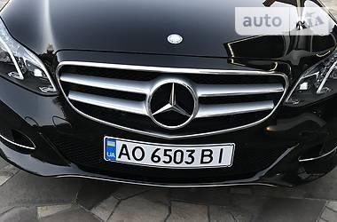 Mercedes-Benz E 200 2013 в Ужгороде