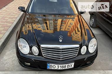 Mercedes-Benz E 200 2009 в Тернополе