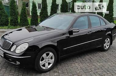 Седан Mercedes-Benz E 200 2002 в Чернигове