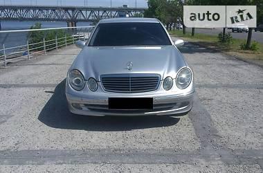 Mercedes-Benz E 220 2002 в Днепре