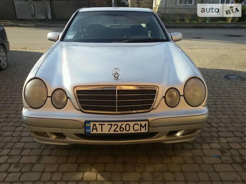Mercedes E-Class 2000 року в Івано-Франківську