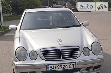 Седан Mercedes-Benz E 240 2002 в Тернополе