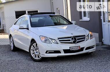 Купе Mercedes-Benz E 250 2010 в Дрогобыче