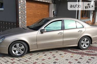 Mercedes-Benz E 270 2002 в Черновцах